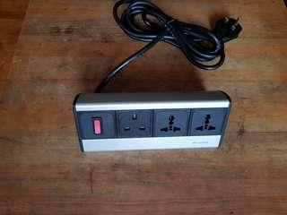 Desk power outlet