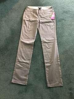 MNG Mango Slim Grey pants. Impulse purchase. New.