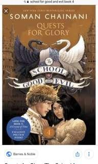 School for good and evil: Quest for Glory (book 4)