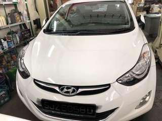 Hyundai Elantra 1.6 Elite 4-Dr Auto