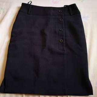 Black Short Skirt (formal) #PRECNY60