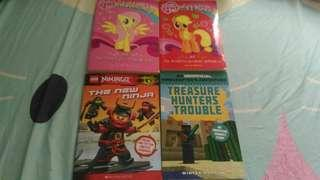my little pony/lego ninjago/minecraft novel