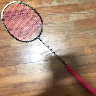 [CLEARANCE] Mint Condition Li Ning N7ii Light Natsir Limited Edition Badminton Racket