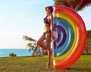 Rainbow Inflatable Float
