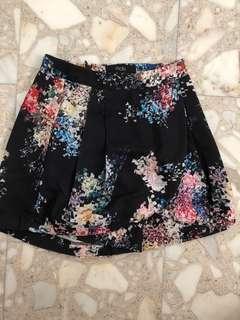 MDS circular cut shorts