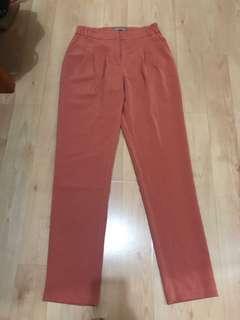 Forcast coral work pants
