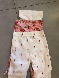 3 for $10 Girls leggings