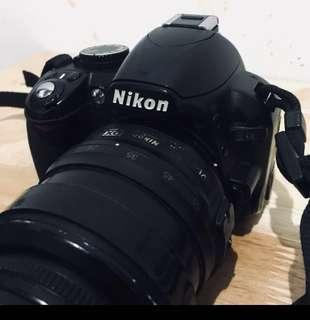 Nikon D3100 DSLR with free Bag