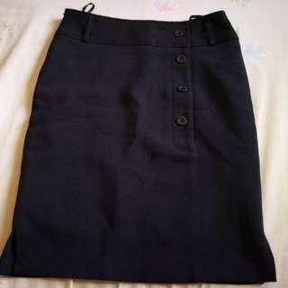 Formal Short Black Skirt #PRECNY60