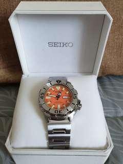 Seiko SKX781 1st Generation Orange Monster