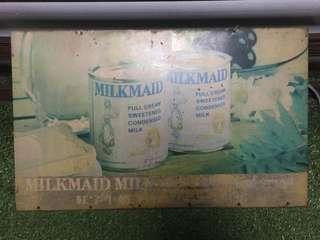 [TSHSE] Milkmaid Condensed Milk Metal Signboard
