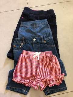 Lot of 4 pieces carter marks and spencer Ralph Lauren levis 3-6 mths to 12 mths