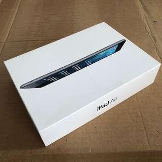 Apple iPad Air Empty Box