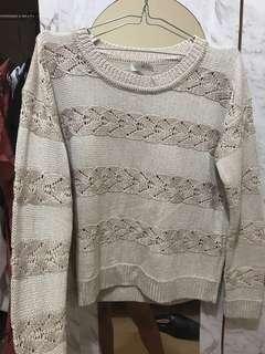 Glitter knit jumper