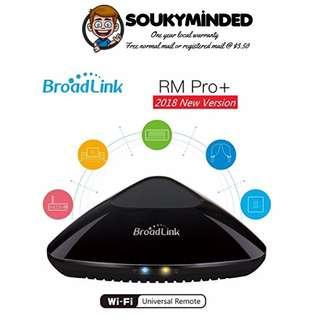 [IN-STOCK] Broadlink RM Pro Plus 2018 Model Universal Remote with Wifi RF:315/433MH2