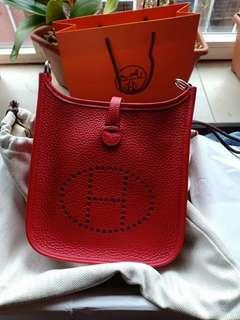Hermes mini evelyn bnib complete set receipt dll