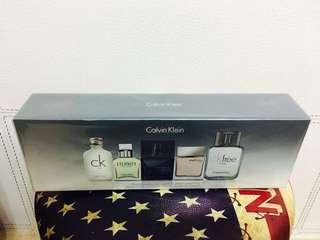 Calvin Klein 男仕迷你香水禮盒
