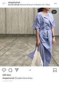 shopatvelvet dress (NAVY)