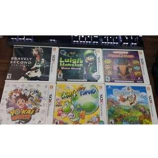 [3DS] New and Used Games