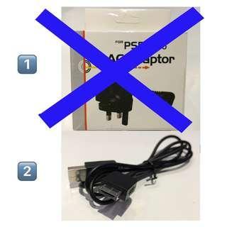 全新 PSP充電器/ PS Vita 充電線