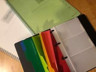 A4 Notebooks 筆記本 x2 & 咭片本 $40 全部