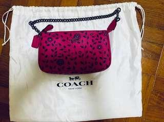 BNWT Coach Wristlet in Willow Floral Print