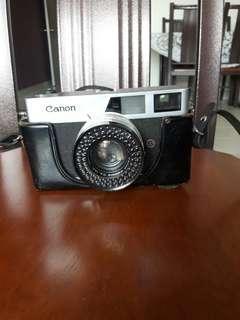 Camera canon canonet