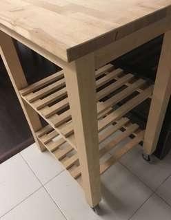 ikea trolley - solid wood