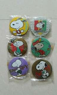 snoopy badges