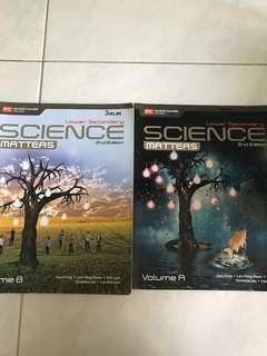 Lower sec science matters