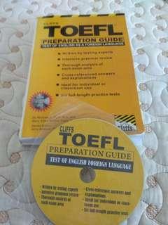 TOEFL Preparation book