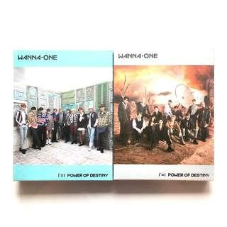 [sealed w poster] wts wanna one power of destiny sealed album