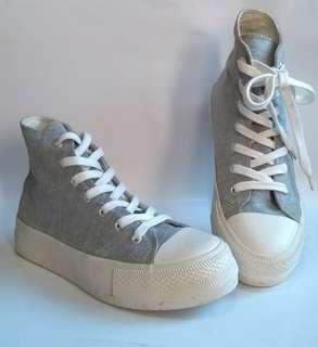 Forever 21 hi cut platform shoes