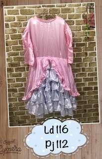 Dress Princess Tumpuk