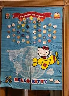 Hello kitty 掛布連章及木棍