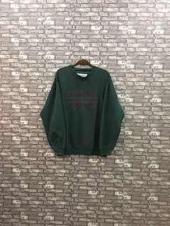 Avirex Green Sweatshirt