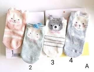 Cute Baby Socks for 0-1 years old
