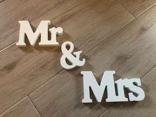 婚後物資-Deco (Mr & Mrs)