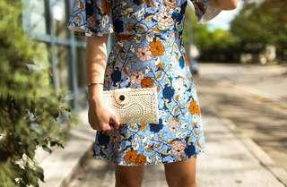 Promo A : butterfly floral dress