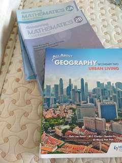 Mathematics & Geography Secondary 2