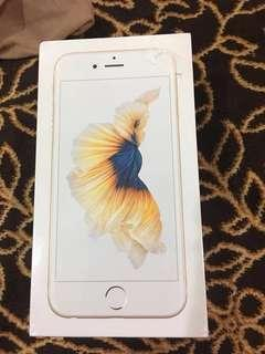 New 100% authentic iphone 6s 16gb gold