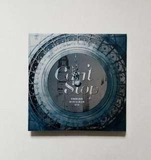 Cnblue 5th Mini Album ~ Can't Stop (w/JH card)