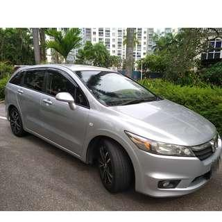 HONDA STREAM 1.8L - RELIABLE, SPORTY, SPACIOUS, EXTRA EARNINGS WITH 6 SEATER JOBS!