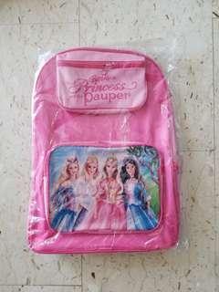 Barbie Princess School Bag