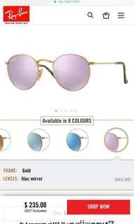 Ray ban Ja JO polarised sunglasses