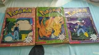 Pokémon storybooks