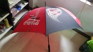 coca-cola 可口可樂傘1大把長39吋