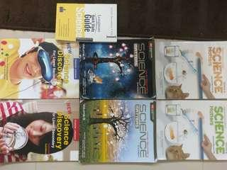 Lower Secondary Science Textbooks and study guide