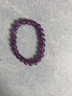 紫水晶  (淺色)