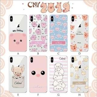2019 chinese new year pig case